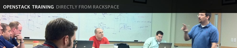 Rackspace Training for OpenStack - San Francisco