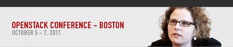 OpenStack Conference- Boston