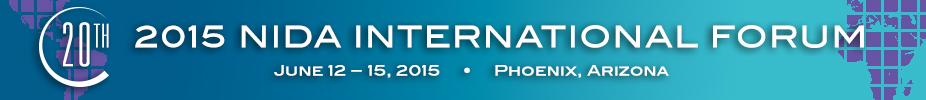 2015 NIDA International Forum