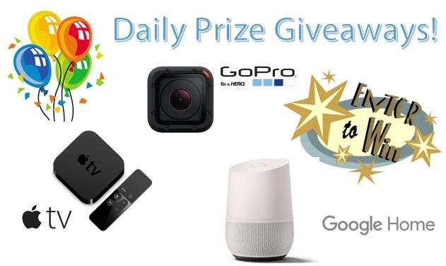 Daily Prize Giveaways