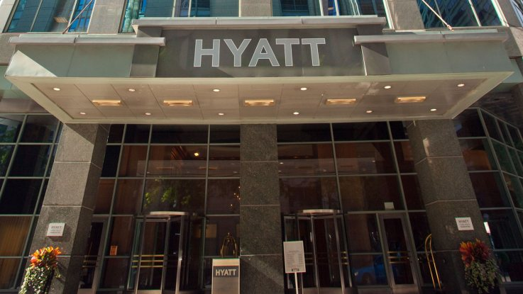 Chicago Hyatt MM Exterior