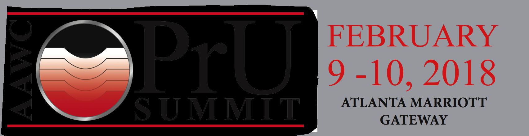 2018 AAWC - Pressure Ulcer Summit - Atlanta, GA