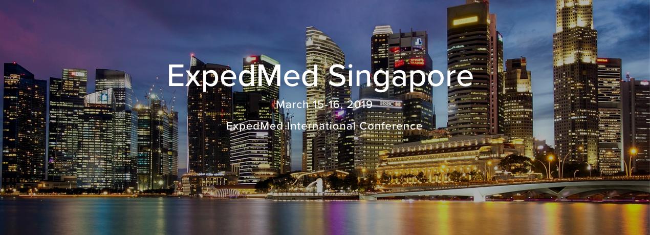 2019 ExpedMed - Singapore