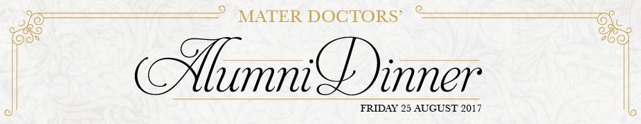 Mater Doctors' Alumni Dinner 2017