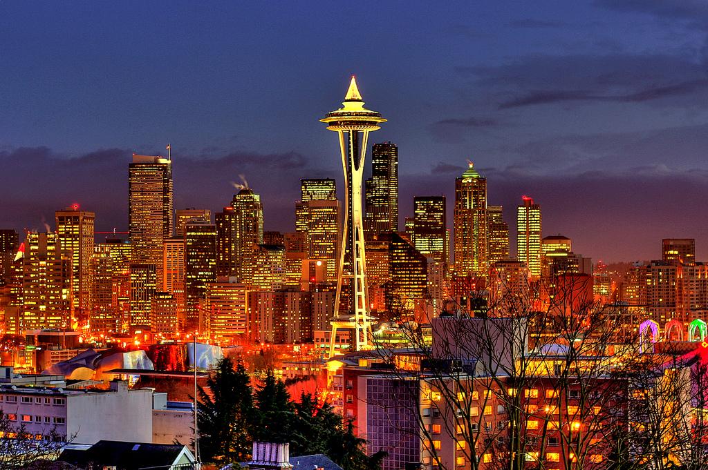 Seattle Spaceneedle Night 2