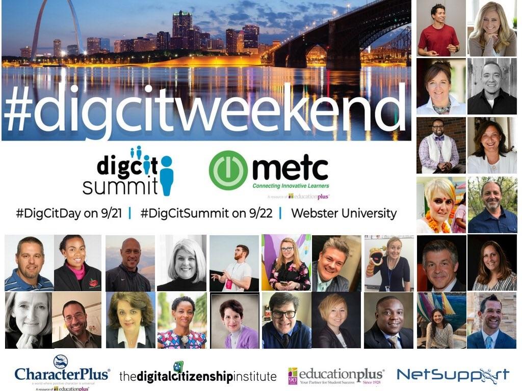 Dig Cit Weekend presenters