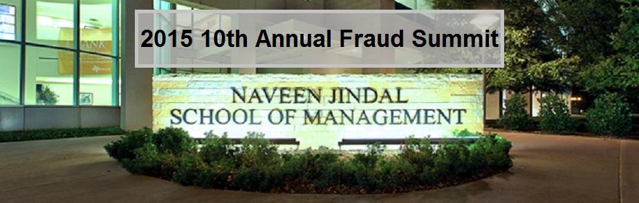 2015 10th Annual Fraud Summit
