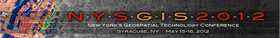 NYS GIS Conference - 2012