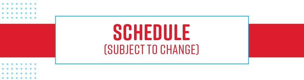 Schedule header