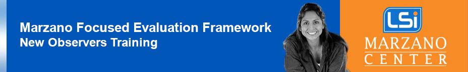 1 Day Marzano Focused Teacher Evaluation Model: Making the Transition 8/3/2017  {MJensen-CF-197-M}