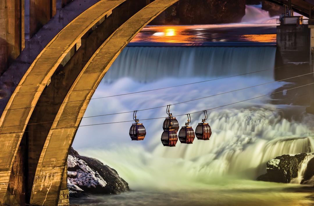Spokane SkyRide Spokane Falls