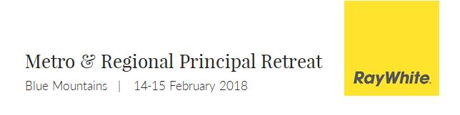 RW Metro & Regional Principal Retreat 2018