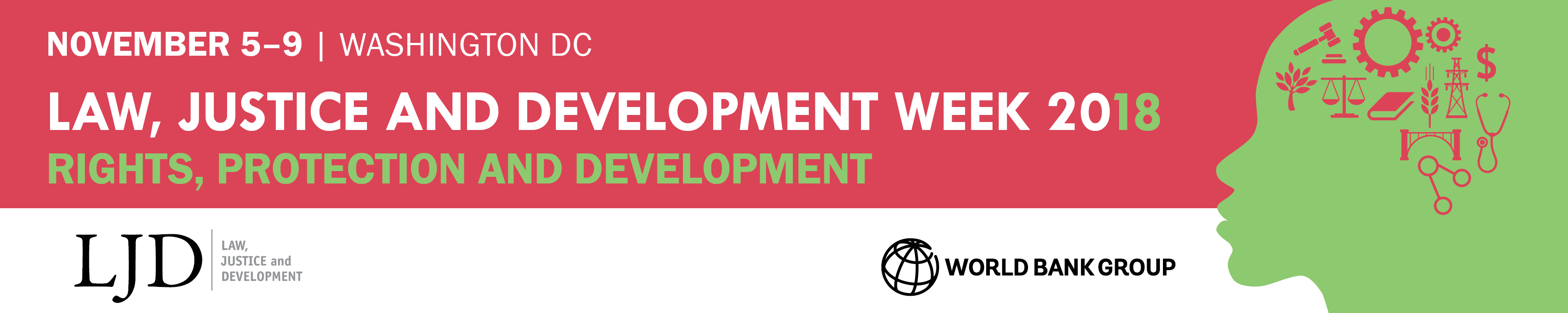 Law, Justice and Development Week 2018