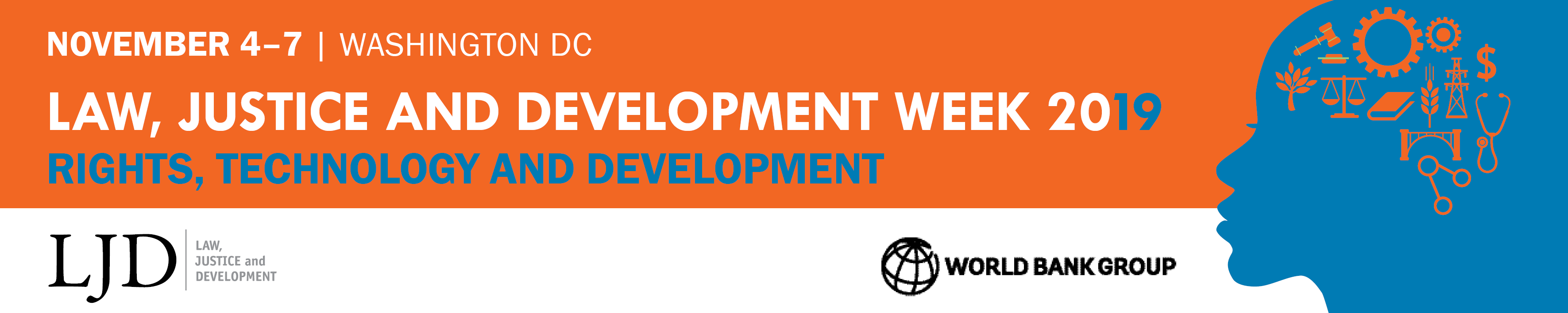 Law, Justice and Development Week 2019