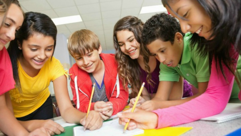 students_writing