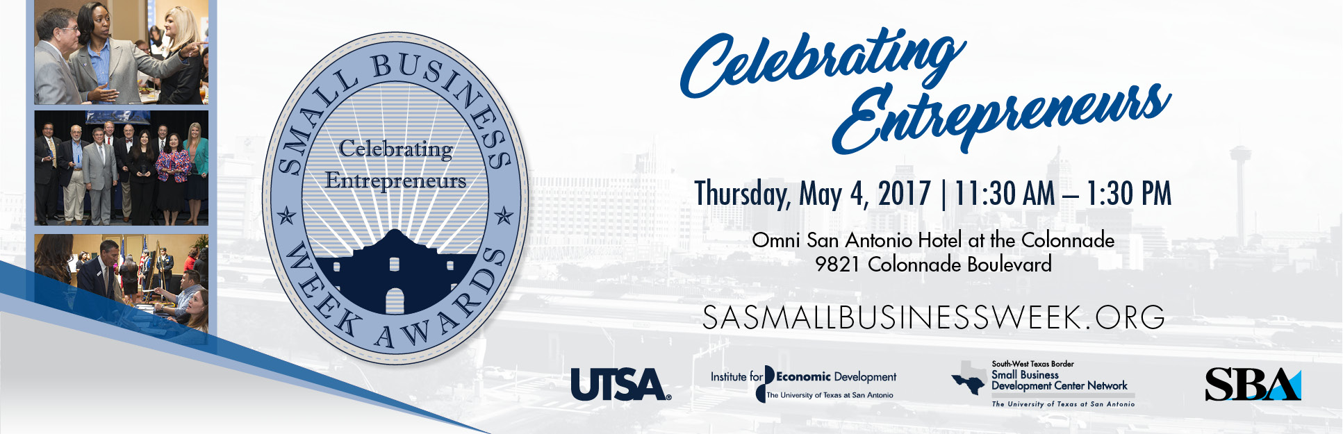 2017 Small Business Week Awards Ceremony