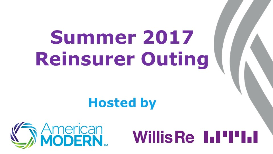 Summer 2017 Reinsurer Outing