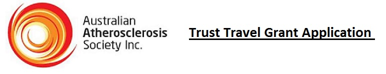 2017 AAS Trust Travel Grant Application
