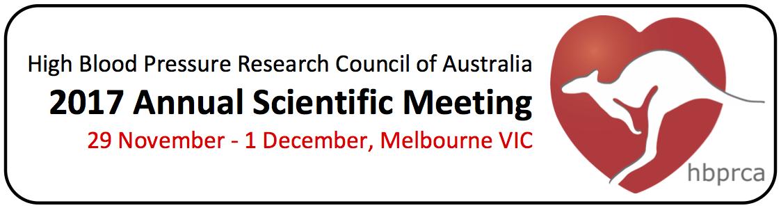 HBPRCA Annual Scientific Meeting 2017