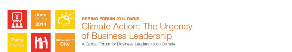 BSR Spring Forum 2014: Climate Action: The Urgency of Business Leadership