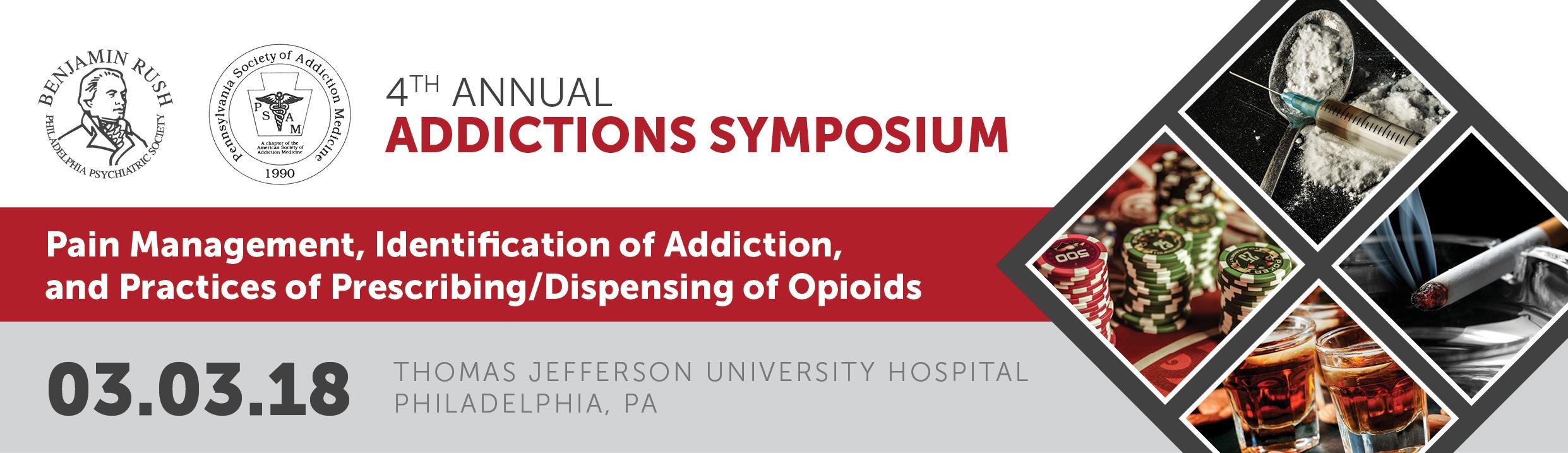 4th Annual Addictions Symposium