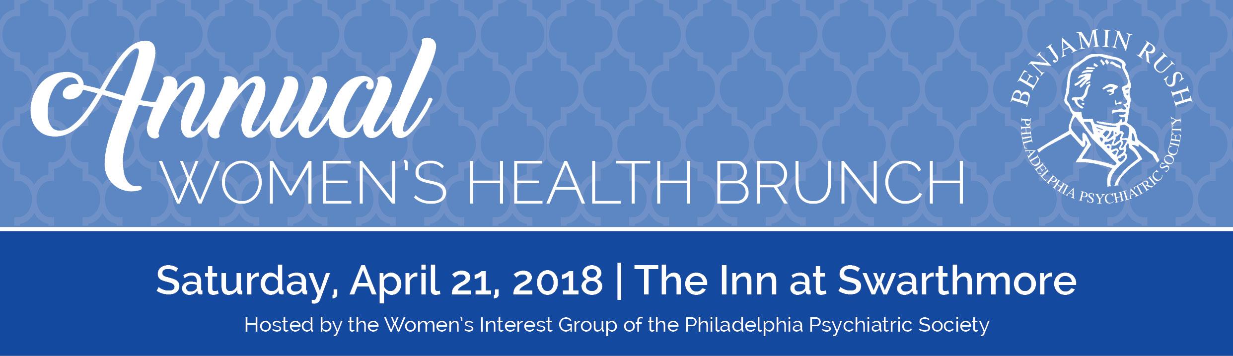 Annual Women's Health Brunch 2018