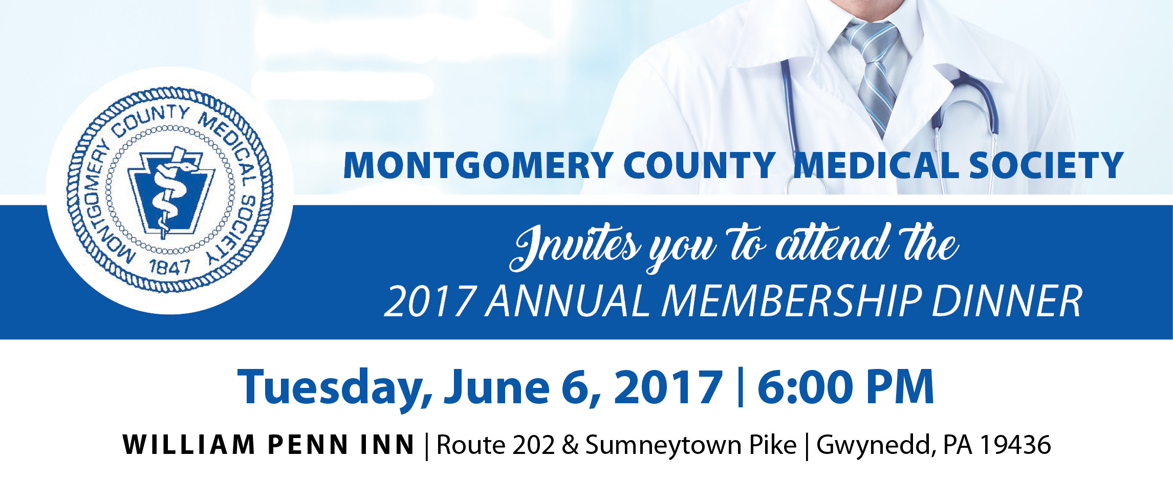 Montgomery County Medical Society 2017 Annual Membership Dinner
