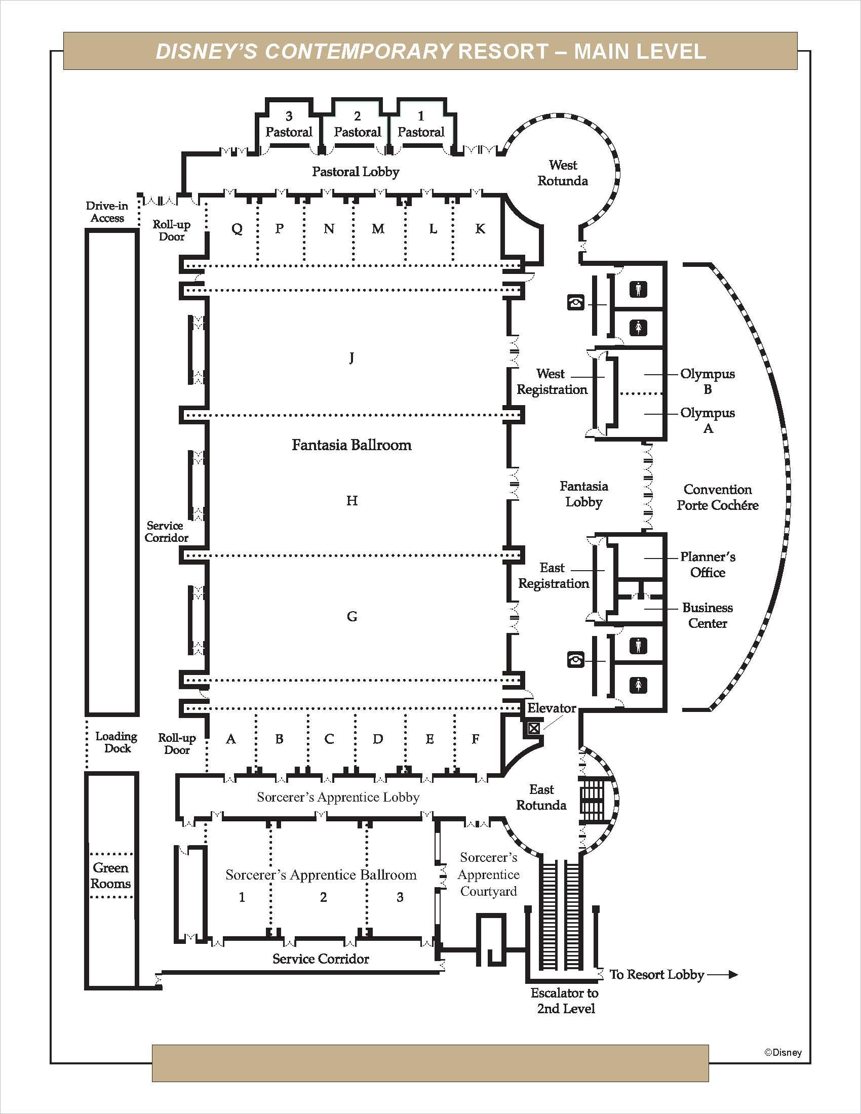 Contemporary Updated Floor Plan