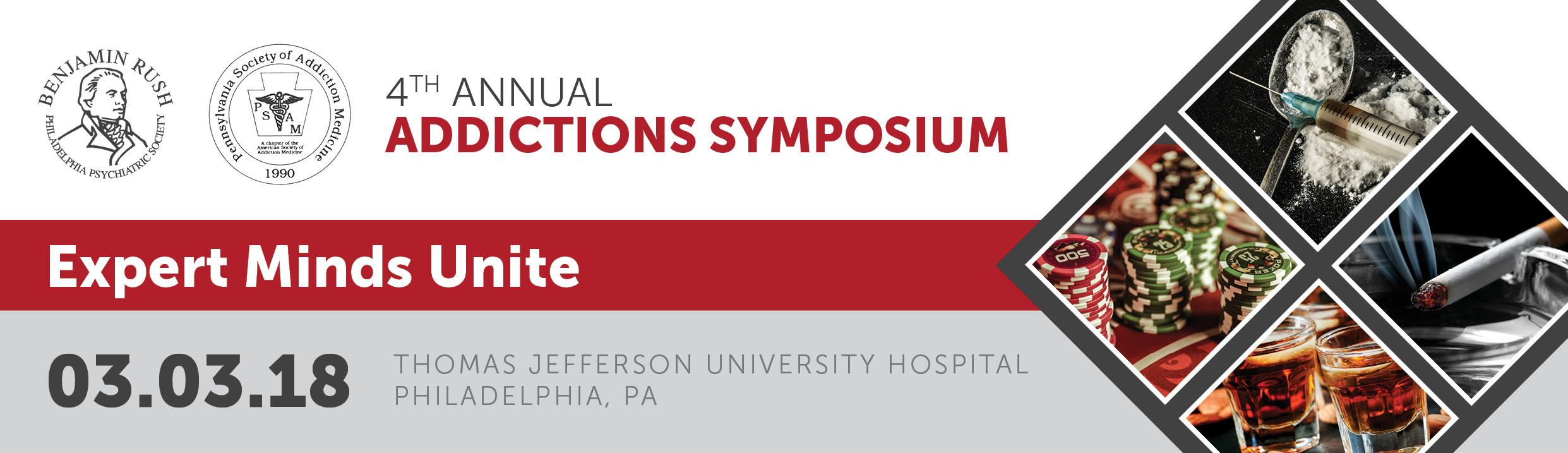 4th Annual Addictions Symposium - Exhibitor Registration