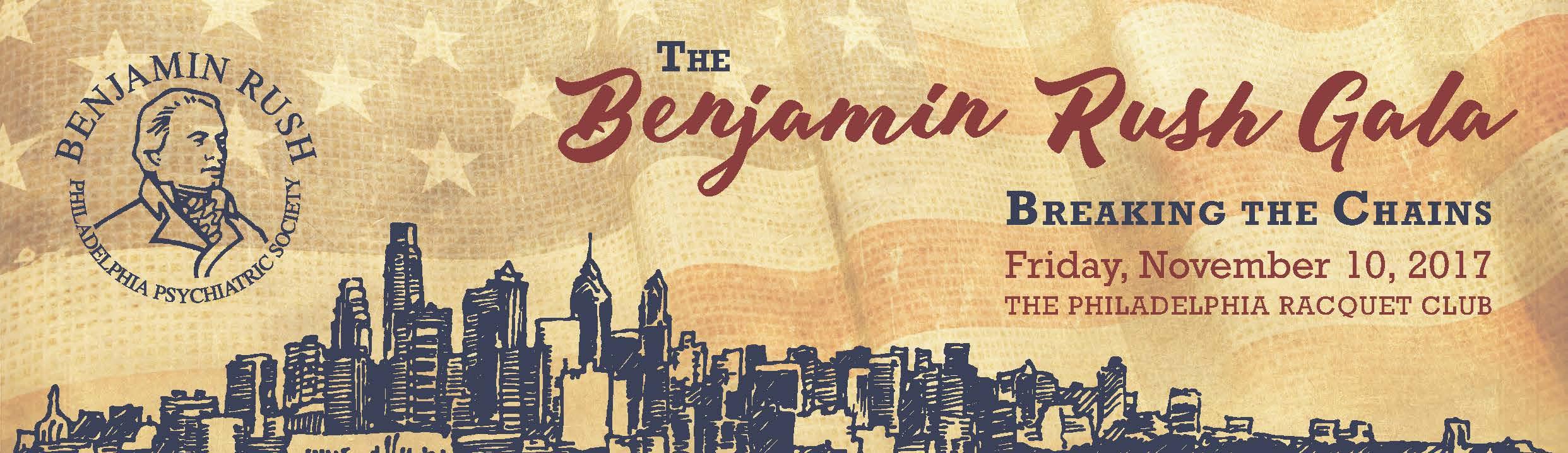 Benjamin Rush Gala Attendee Registration