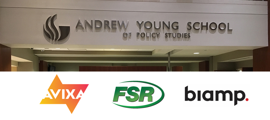AVIXA FSR & Biamp Experience at Andrew Young School of Policy Studies