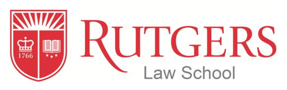 Rutgers Law School Logo