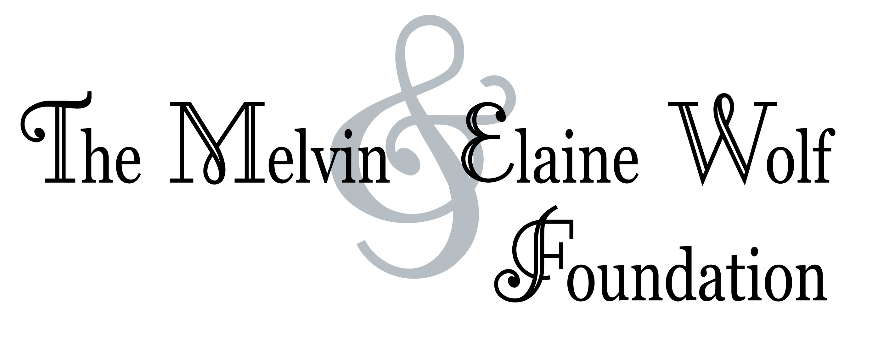 The Melvin Elaine Wolf Foundation