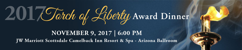 2017 Torch of Liberty Award Dinner