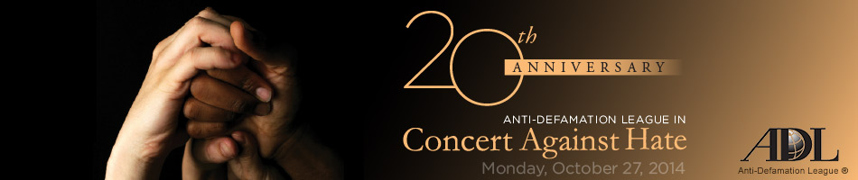 2014 Concert Against Hate Website Banner