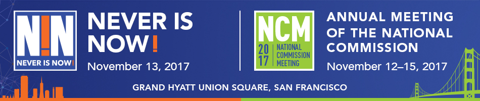 The Annual Meeting of the National Commission, November 12-15, 2017