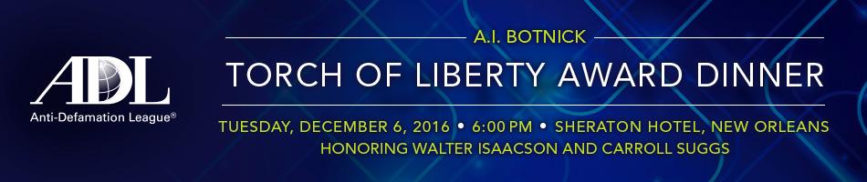 A.I. Botnick Torch of Liberty Award Dinner