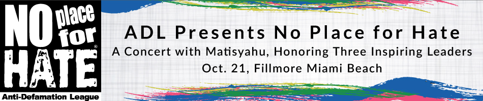 No Place for Hate: A Concert with Matisyahu