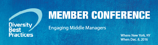 DBP Member Conference - The Leader in the Middle: Engaging Middle Managers in D&I