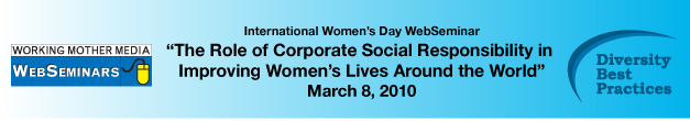 International Women's Day WebSeminar