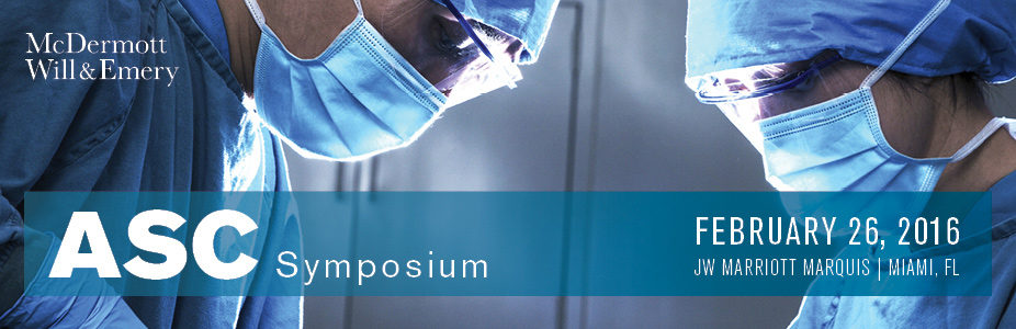 McDermott's 2016 ASC Symposium