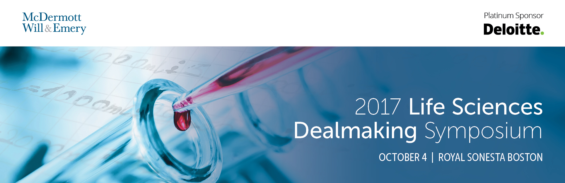 McDermott's 2017 Life Sciences Dealmaking Symposium