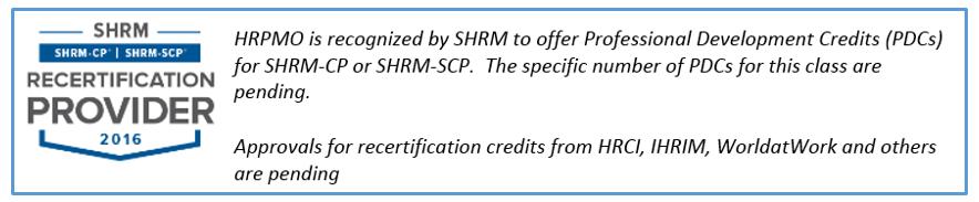 SHRM_Recert_EarlyHRPMO