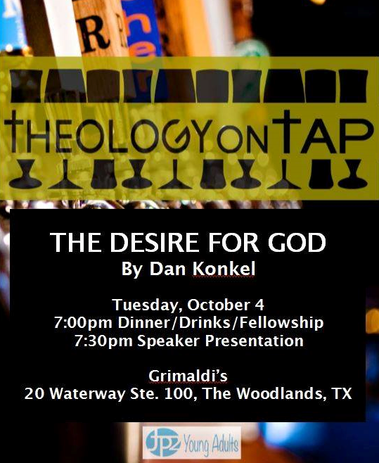 Theology on Tap- October 2016