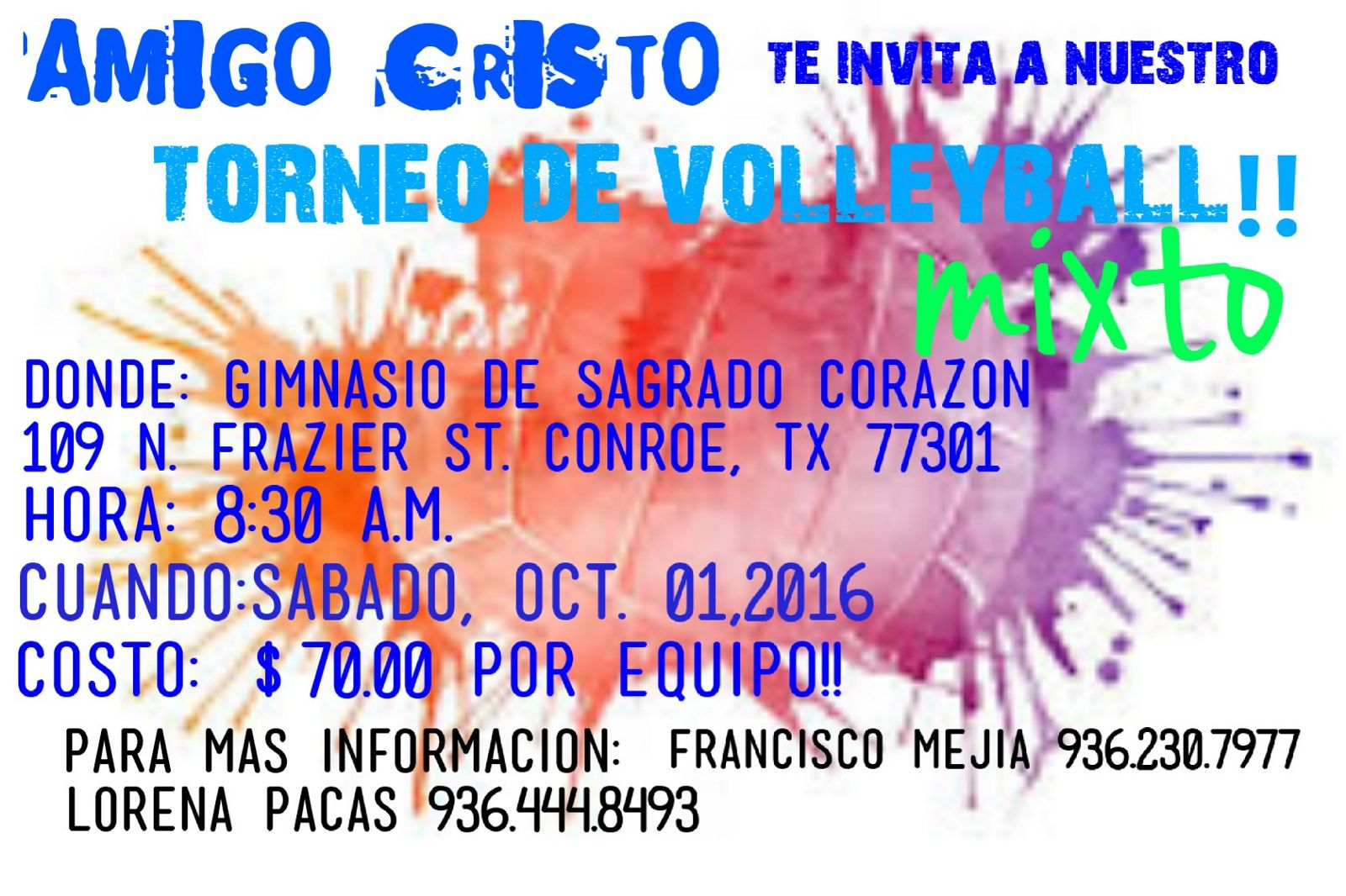 Torneo Volleyball-Conroe