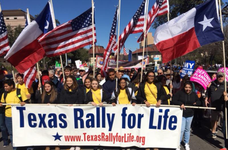 Texas Rally for Life 2019
