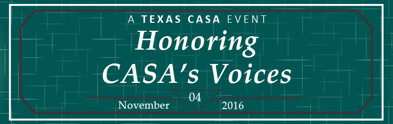 Honoring CASA's Voices Reception