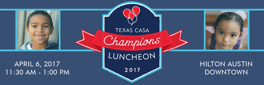 2017 Texas CASA Champions Luncheon