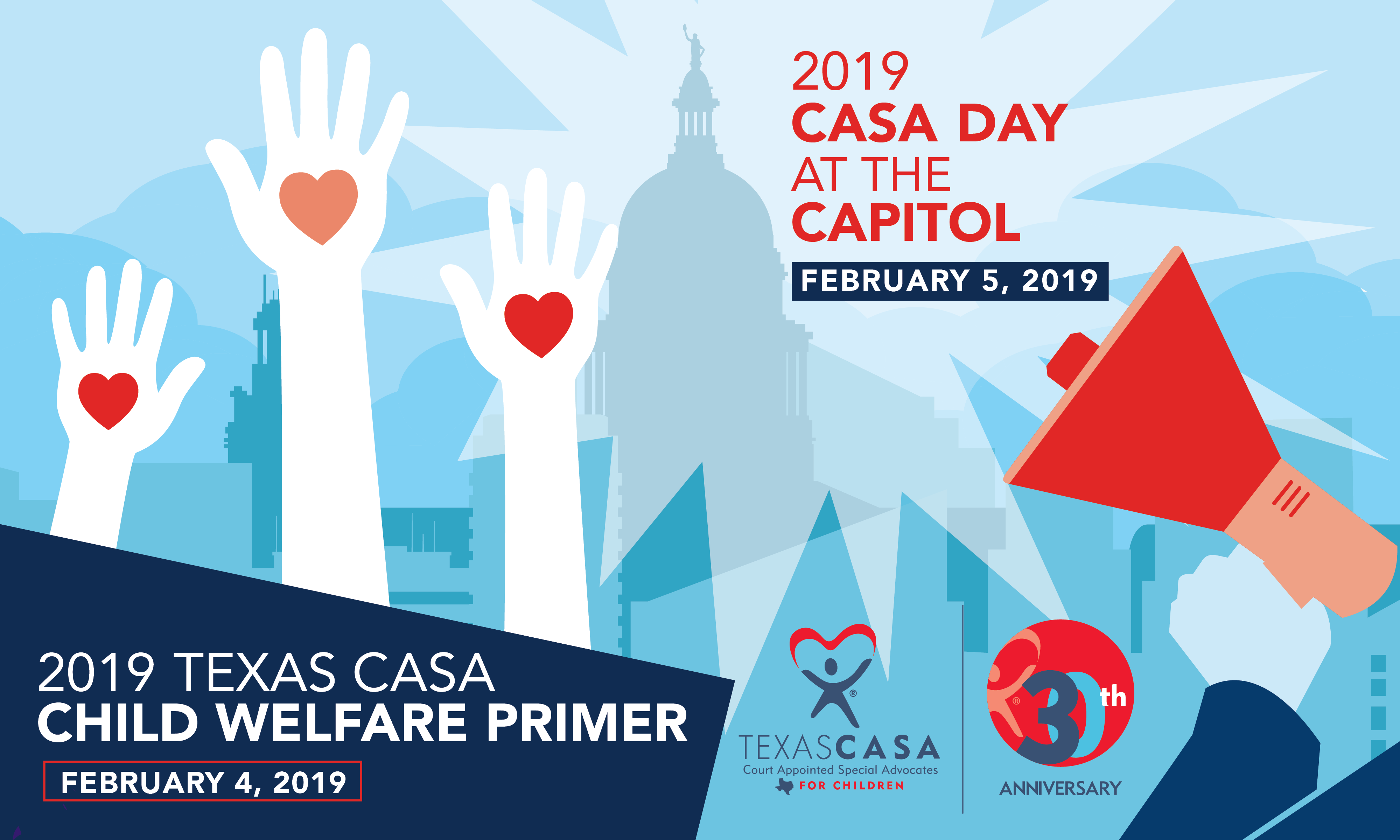 2019 Child Welfare Primer & CASA Day at the Capitol