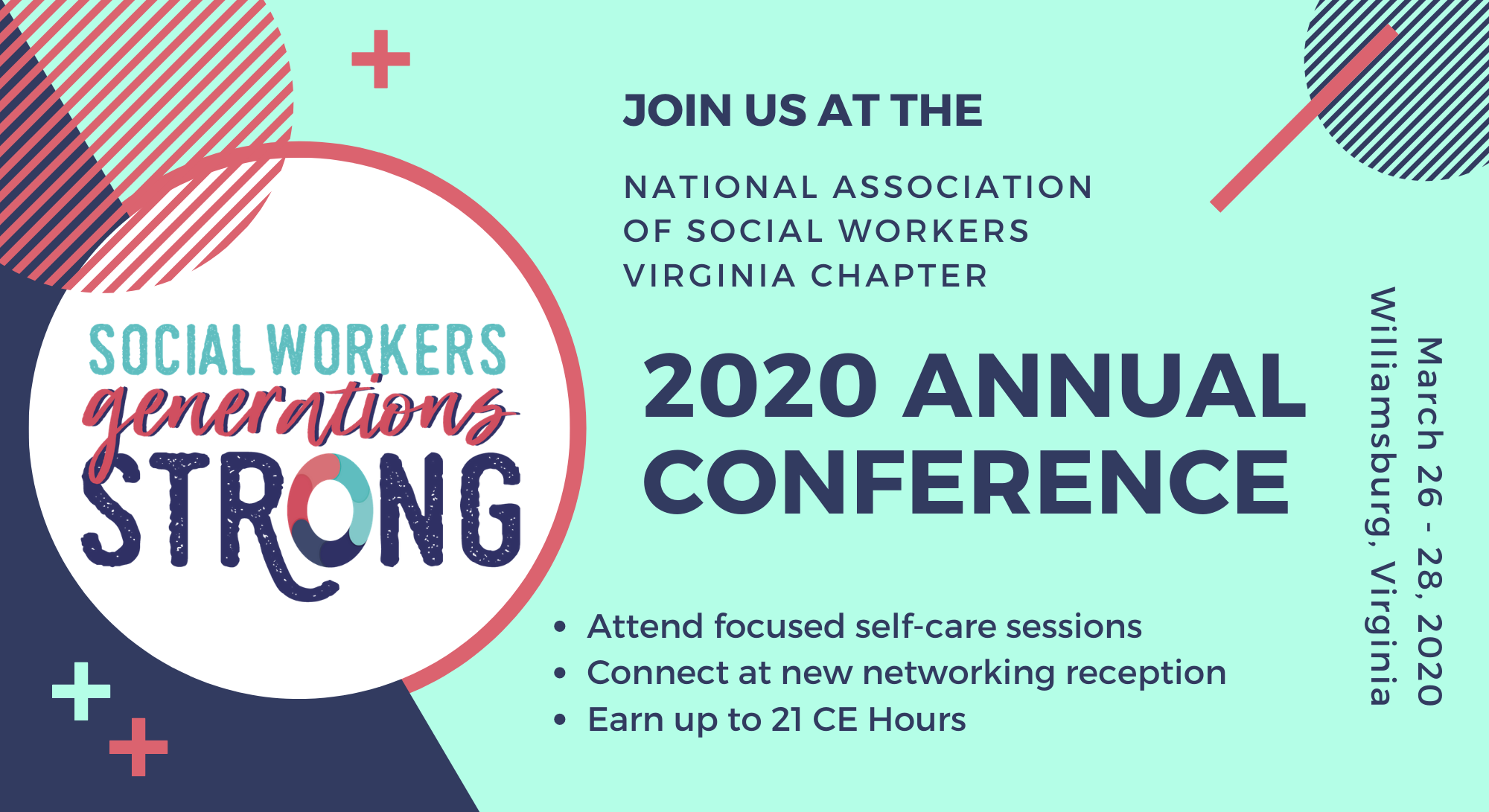 Registration - 2020 NASW Virginia Annual Conference